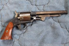This is a fully matching… Revolver Rifle, Single Action Revolvers, Black Powder Guns, Steampunk Weapons, Fire Powers, Hunting Guns, Cool Guns, Le Far West, Military Weapons