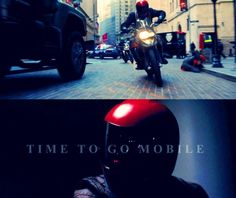 """""""Time to go mobile."""""""