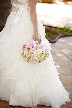 Gorgeous peonies bouquet