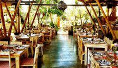 La Finca Bali in Batu Belig, Seminyak is a Spanish Ibiza-style restaurant. La Finca Bali restaurant serves good food including tapas in a chill open-air setting. La Laguna Bali, Bali Restaurant, Restaurant Ideas, Farmhouse Cafe, Best Of Bali, Farm Cafe, Bali Baby, Kid Friendly Restaurants, Bali Travel Guide