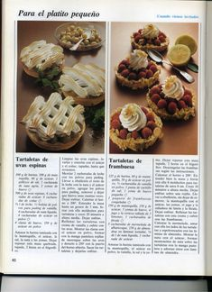 El gran libro de la reposteria everest Old Recipes, Vintage Recipes, Cupcakes, Delicious Desserts, Muffin, Artisan, Breakfast, Slide, Sweet