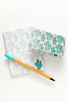 cactus notepad & notecards by Sucre Shop | Sucre Shop
