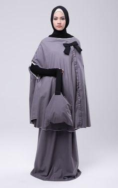 Cape Mukena Candace Abaya Pattern, Modern Abaya, Gaya Hijab, Hijab Tutorial, Cape Dress, Abaya Fashion, Hijab Outfit, Muslim Women, Niqab