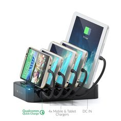 Our Top 10 Desktop Charging Stations Hub For 2017