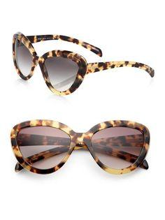 57MM Cat Eye Sunglasses by Prada