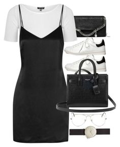 """Untitled #9266"" by nikka-phillips ❤ liked on Polyvore featuring STELLA McCARTNEY, Topshop, La Perla, Étoile Isabel Marant, Yves Saint Laurent, Ray-Ban and MIANSAI"