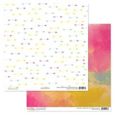 Glitz WILD & FREE 12x12 Double-Sided Cardstock Sheet - Arrows