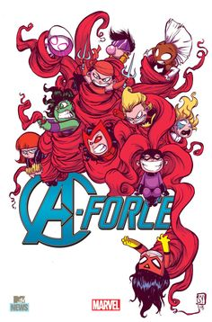A-Force #1 variant.