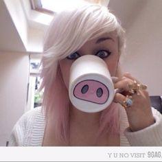 Haha. I love that mug