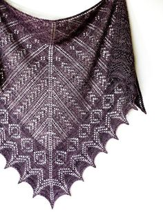Knitting: Alexandra Shawl