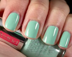 Pastel Colors, Colours, Trendy Colors, Kelly Green, Colored Jeans, Makeup Tips, Swatch, Nail Polish, Just For You
