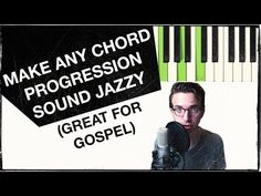 How to Make ANY Chord Progression Jazzy with Secondary Dominants (ESSENTIAL for GOSPEL) - YouTube
