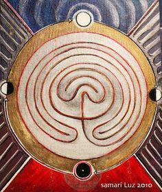 Samari Luz:  El laberinto es el símbolo de gran presencia en t...