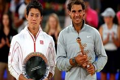 Rafael Nadal won his fourth Madrid Open title on Sunday after Kei Nishikori was forced to withdraw with a back injury when trailing 2-6, 6-4, 3-0 in the final.  Nadal became the first repeat winner in Madrid, and recovered from two recent quarterfinal losses on clay to win his second title on the surface and third overall this year. #RafaelNadal #MadridOpen #Tennis #Sports #Dunya #News