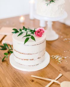 A Modern, Confetti-Filled Wedding at a Gallery in Philadelphia Confetti Cake, Wedding Confetti, Small Wedding Cakes, Wedding Desserts, On Your Wedding Day, Dream Wedding, One Tier Cake, Wedding Cake Inspiration, Wedding Ideas
