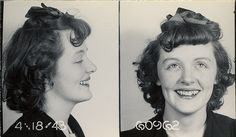 vintage mug shot lady Beauty Is Fleeting, Modern Mugs, Big Shoulders, Body Reference, Amazing Pics, Mug Shots, Vintage Photographs, Retro Vintage, Glamour