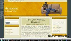 Clean Yellow Wordpress Theme - Wordpress Templates #wordpress #worpdresstemplates #yellow