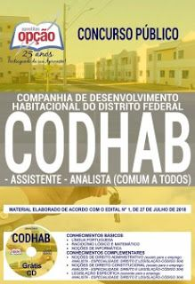 Download Apostila Concurso Codhab 2018 Pdf Baixar Gratis