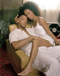 Jada Pinkett & Will Smith