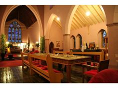 The building, formerly known as St John the Baptist Church has stylish accommodation, amazing architecture and an extensive history, effortlessly combining modern luxury with old world charm.