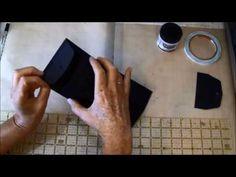 How to make a Double Envelope Mini Album part 1 - YouTube
