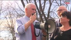 VP Mike Pence Helps Restore Vandalized Jewish Cemetery Important News, Mike Pence, Cemetery, Restore, Over Ear Headphones