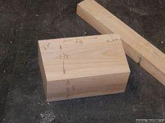 Make a wooden mallet (really good description)