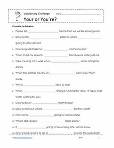 Correcting Run on Sentences Worksheet Part 1 | Projects to Try ...