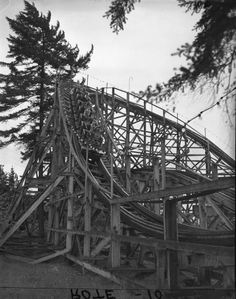 Kids on Dipper coaster during Patrol Day