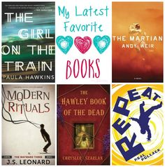 Read any good books lately? Come check out my reviews for my latest favorite books! Maybe you'll find one you can't wait to read!