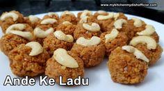 अंडे के मिठाई बनाये सिर्फ ३ चीज़ों से | Ande Ke Laddu |My Kitchen My Dish