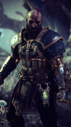 God of war 2018 Screenshots God Of War Series, Kratos God Of War, My Fantasy World, Gaming Wallpapers, Comic Movies, Fantasy Warrior, Character Design, Game Character, Game Art