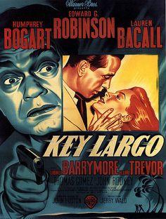 Vintage Movie Poster--Bogie--Great Edward G. Robinson