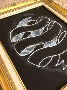 Chalkboard. Sign I did.