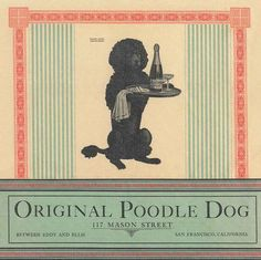 original poodle dog