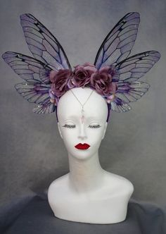 A Comprehensive Overview on Home Decoration - Modern Fairy Cosplay, Pink And Purple Flowers, Romantic Flowers, Fairy Wings, Halloween Disfraces, Flower Fairies, Fantasy Jewelry, Oeuvre D'art, Flower Crown
