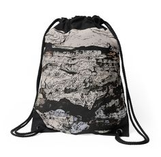 Rocky Mountain Wall Pattern by cool-shirts #bags #drawstring #design #trending