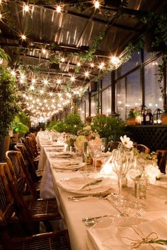 """Great idea for a """"green"""" elegance for your event.  Posted by BRIE cater. www.lettucecater.com"""