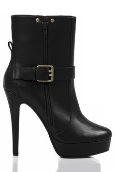 Buckle Ankle Bootie / Charles David