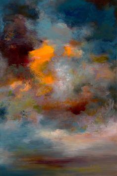Saatchi Online Artist: Rikka Ayasaki; Acrylic, Painting Passions-twilight 7000