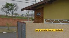 Rua Araçatuba, Araras - São Paulo