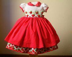 Vestido Moranguinho