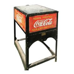 1000 images about coca cola on pinterest coolers coca for 1 door retro coke cooler