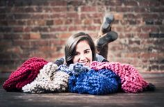 Infinity scarves are back!  www.hoveringdoves.com