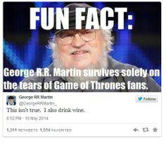 #GameofThrones fun fact