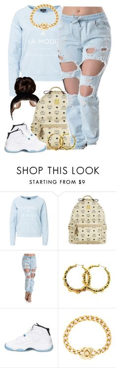 """""""D.A.M x Fetty Wap"""" by lulu-foreva ❤ liked on Polyvore featuring VILA, MCM, Retrò and Chanel"""