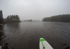 17.11.2015 November SUP in Finland