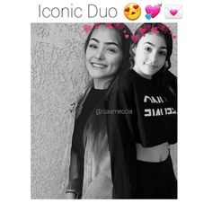 I would love for them to meet they'd be such cute friends and their selfies together would be bomb as hell oml  -->  @isameccia @real.ona            #trending #trendy #lol #omg #fanpage #musically #bellydance #bellydancer #dance #dancer #isa #ona #isameccia #malu #malutrevejo #talented #young #pretty #eyeliner #tutorial #cute #onagang #hailo #viral #barbie #spanish #snapchat #malu #malutrevejo #talented #leaelui #onanation