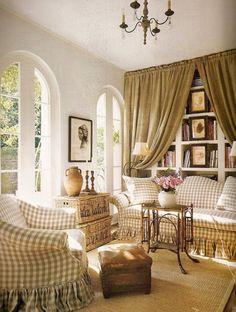 Interiors Etc. Details: Charming Checks