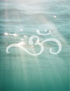 Serenity ~ Ohm Shanti Ohm - 'Om Shanti' means peace for the all human kind, peace for all living and non living beings, peace for the universe, peace for each and every things in this whole cosmic manifestation. I think this would be a cool tattoo